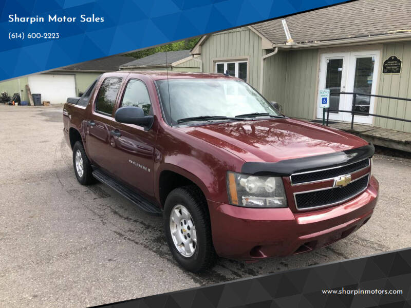 2009 Chevrolet Avalanche for sale at Sharpin Motor Sales in Columbus OH