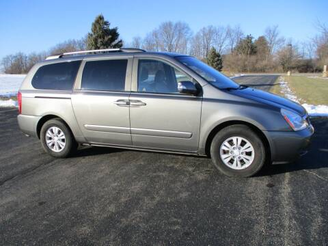 2011 Kia Sedona for sale at Crossroads Used Cars Inc. in Tremont IL