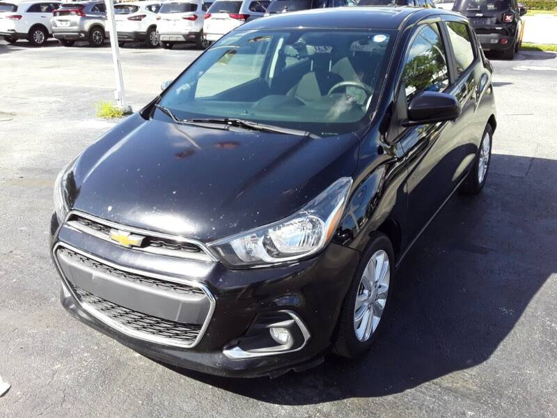 2018 Chevrolet Spark for sale at YOUR BEST DRIVE in Oakland Park FL