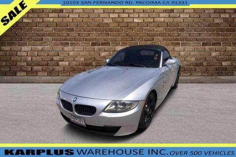 2006 BMW Z4 for sale at Karplus Warehouse in Pacoima CA