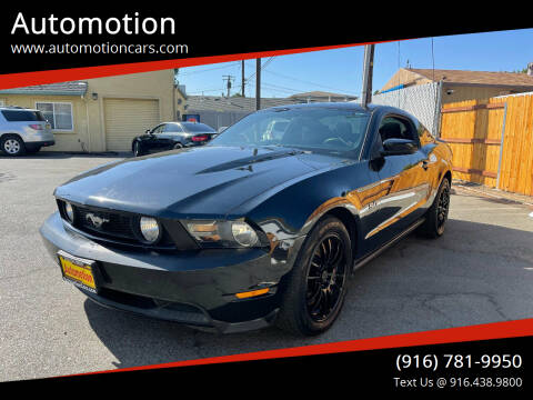 2012 Ford Mustang for sale at Automotion in Roseville CA