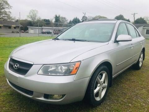 2008 Hyundai Sonata for sale at Cutiva Cars in Gastonia NC