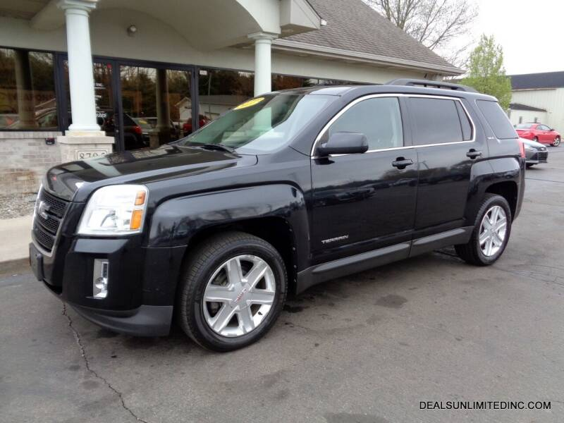 2011 GMC Terrain for sale at DEALS UNLIMITED INC in Portage MI