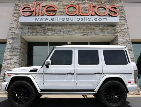 2018 Mercedes-Benz G-Class for sale at Elite Autos LLC in Jonesboro AR