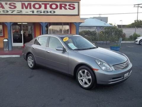 2004 Infiniti G35 for sale at Atayas Motors INC #1 in Sacramento CA