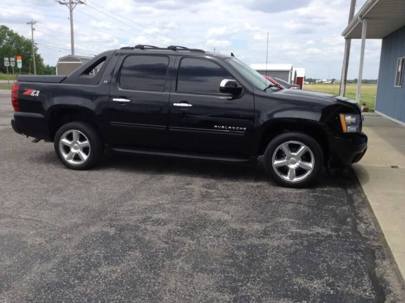 2012 Chevrolet Avalanche for sale at Kevin's Motor Sales in Montpelier OH