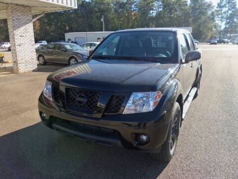 2020 Nissan Frontier for sale at Howell Buick GMC Nissan - New Nissan in Summit MS
