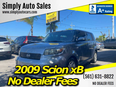 2009 Scion xB for sale at Simply Auto Sales in Palm Beach Gardens FL