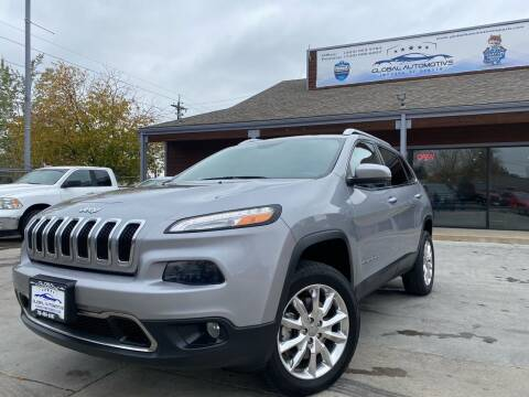 2015 Jeep Cherokee for sale at Global Automotive Imports of Denver in Denver CO