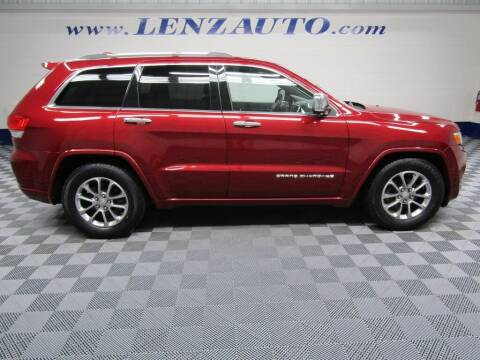 2015 Jeep Grand Cherokee for sale at LENZ TRUCK CENTER in Fond Du Lac WI