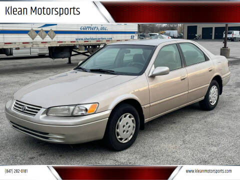 1997 Toyota Camry for sale at Klean Motorsports in Skokie IL