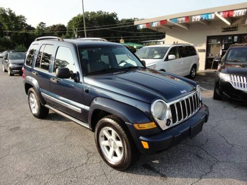 2007 Jeep Liberty for sale at HAPPY TRAILS AUTO SALES LLC in Taylors SC