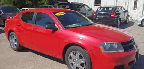 2014 Dodge Avenger for sale at Superior Motors in Mount Morris MI