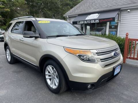 2011 Ford Explorer for sale at Clear Auto Sales in Dartmouth MA