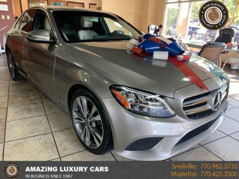 2019 Mercedes-Benz C-Class for sale at Amazing Luxury Cars in Snellville GA