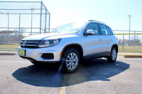 2016 Volkswagen Tiguan for sale at MEGA MOTORS in South Houston TX