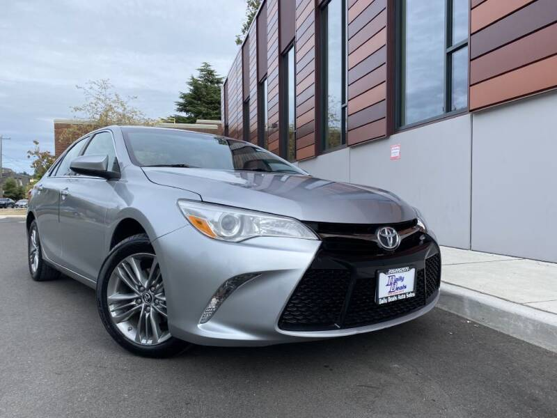 2015 Toyota Camry for sale at DAILY DEALS AUTO SALES in Seattle WA