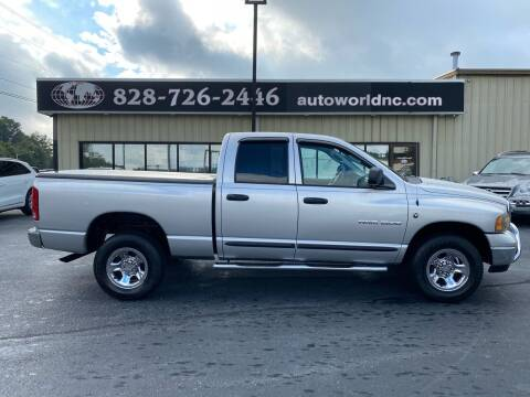 2004 Dodge Ram Pickup 1500 for sale at AutoWorld of Lenoir in Lenoir NC