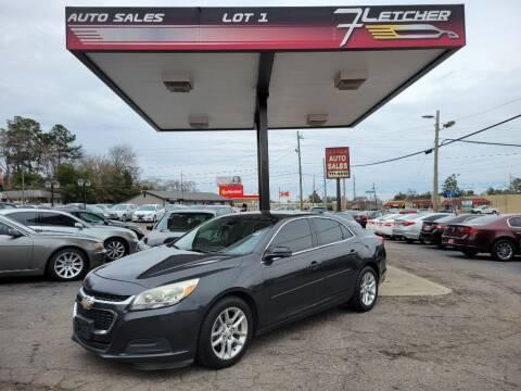 2014 Chevrolet Malibu for sale at Fletcher Auto Sales in Augusta GA