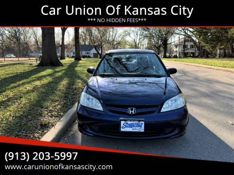 2005 Honda Civic for sale at Car Union Of Kansas City in Kansas City MO