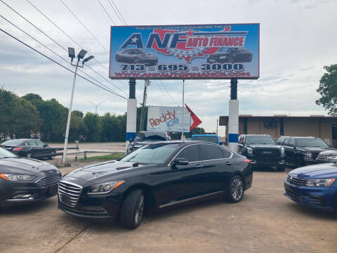 2016 Hyundai Genesis for sale at ANF AUTO FINANCE in Houston TX