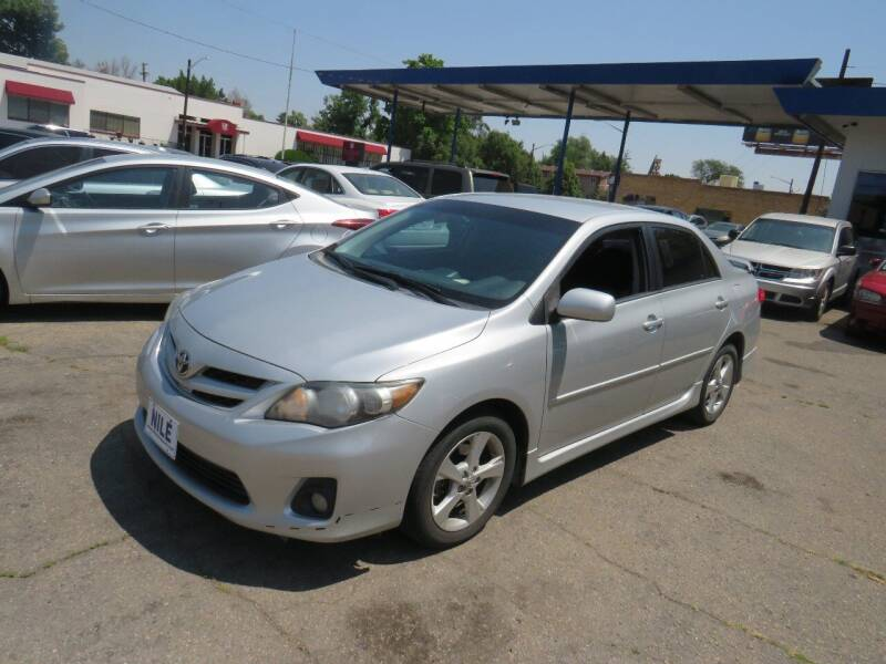 2013 Toyota Corolla for sale at Nile Auto Sales in Denver CO