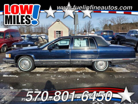 1993 Cadillac Fleetwood for sale at FUELIN FINE AUTO SALES INC in Saylorsburg PA