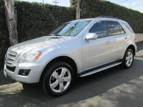 2009 Mercedes-Benz M-Class for sale at Elite Dealer Sales in Costa Mesa CA