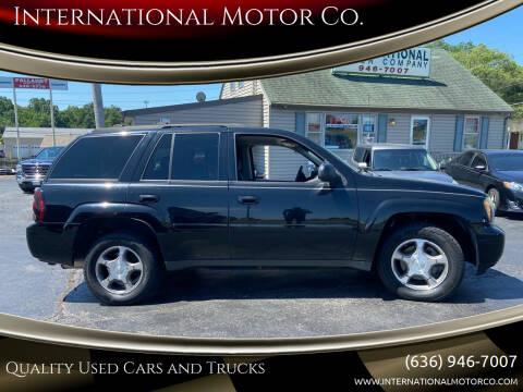 2008 Chevrolet TrailBlazer for sale at International Motor Co. in Saint Charles MO