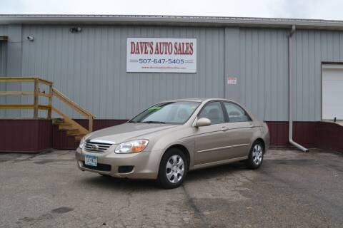 2007 Kia Spectra for sale at Dave's Auto Sales in Winthrop MN