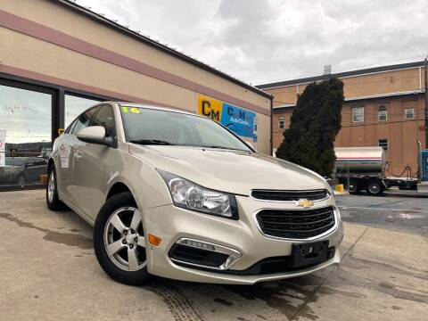 2016 Chevrolet Cruze Limited for sale at Car Mart Auto Center II, LLC in Allentown PA