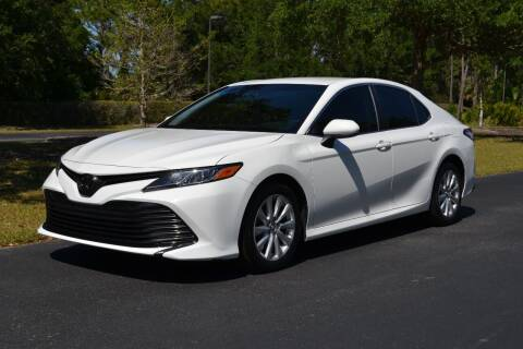 2018 Toyota Camry for sale at GulfCoast Motorsports in Osprey FL