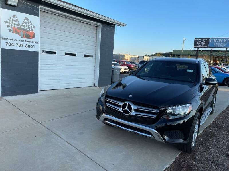 2017 Mercedes-Benz GLC for sale at NATIONAL CAR AND TRUCK SALES LLC - National Car and Truck Sales in Concord NC