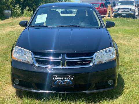 2011 Dodge Avenger for sale at Lewis Blvd Auto Sales in Sioux City IA