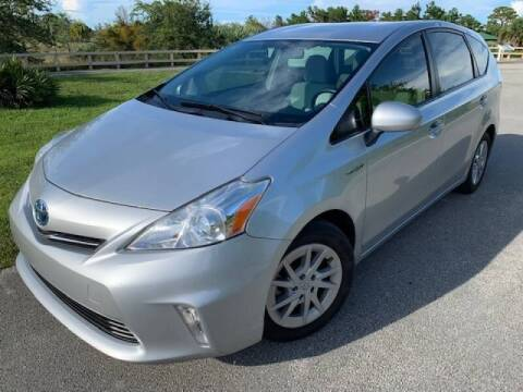 2012 Toyota Prius v for sale at Deerfield Automall in Deerfield Beach FL