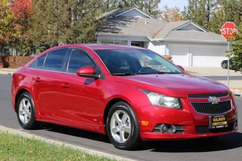 2012 Chevrolet Cruze for sale at California Diversified Venture in Livermore CA