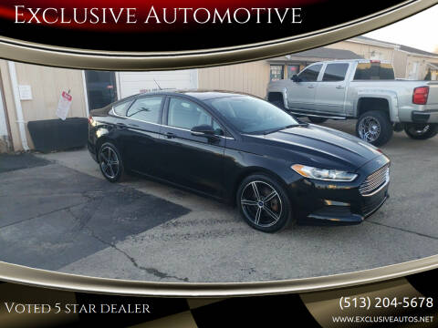 2014 Ford Fusion for sale at Exclusive Automotive in West Chester OH