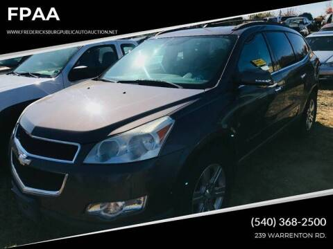 2009 Chevrolet Traverse for sale at FPAA in Fredericksburg VA