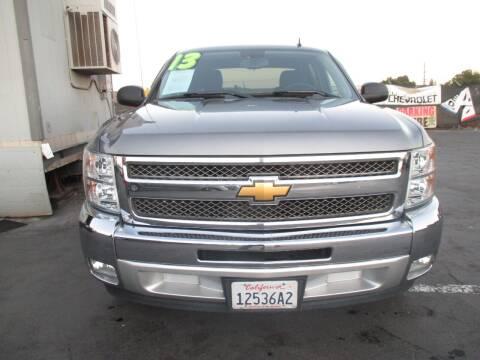 2013 Chevrolet Silverado 1500 for sale at Quick Auto Sales in Modesto CA