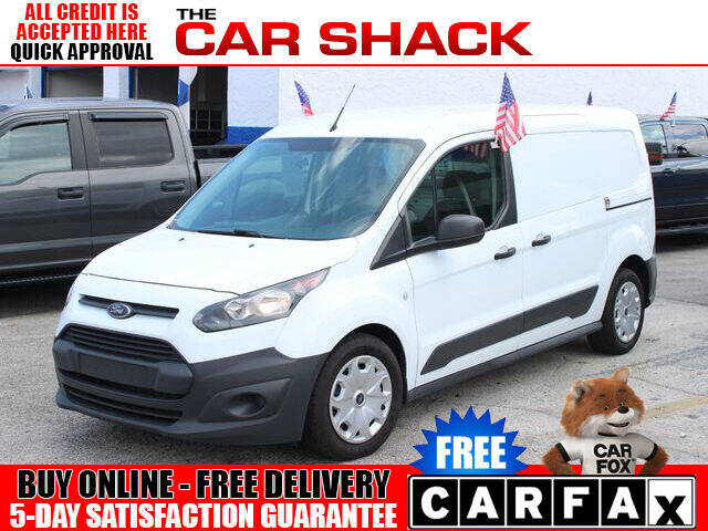 2018 Ford Transit Connect Cargo for sale at The Car Shack in Hialeah FL