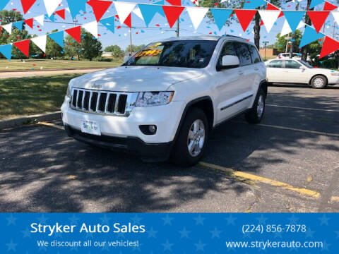 2011 Jeep Grand Cherokee for sale at Stryker Auto Sales in South Elgin IL