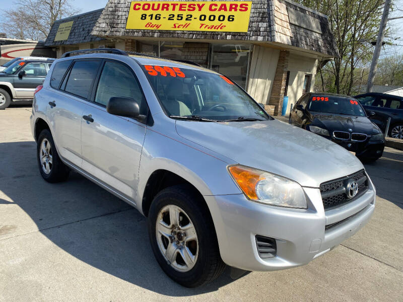 2011 Toyota RAV4 for sale at Courtesy Cars in Independence MO