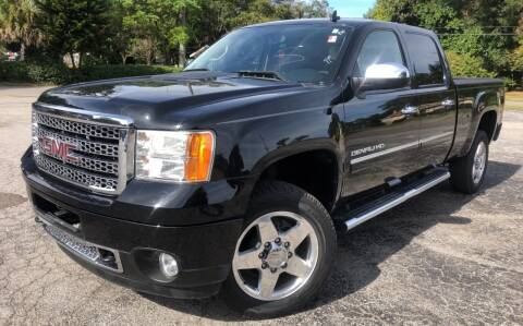 2011 GMC Sierra 2500HD for sale at LUXURY AUTO MALL in Tampa FL