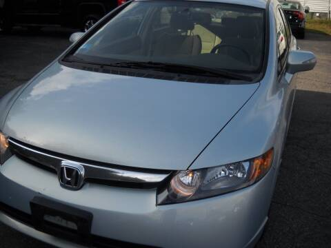 2007 Honda Civic for sale at Best Wheels Imports in Johnston RI