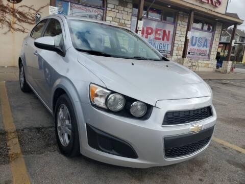 2015 Chevrolet Sonic for sale at USA Auto Brokers in Houston TX