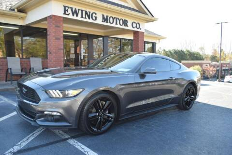 2017 Ford Mustang for sale at Ewing Motor Company in Buford GA