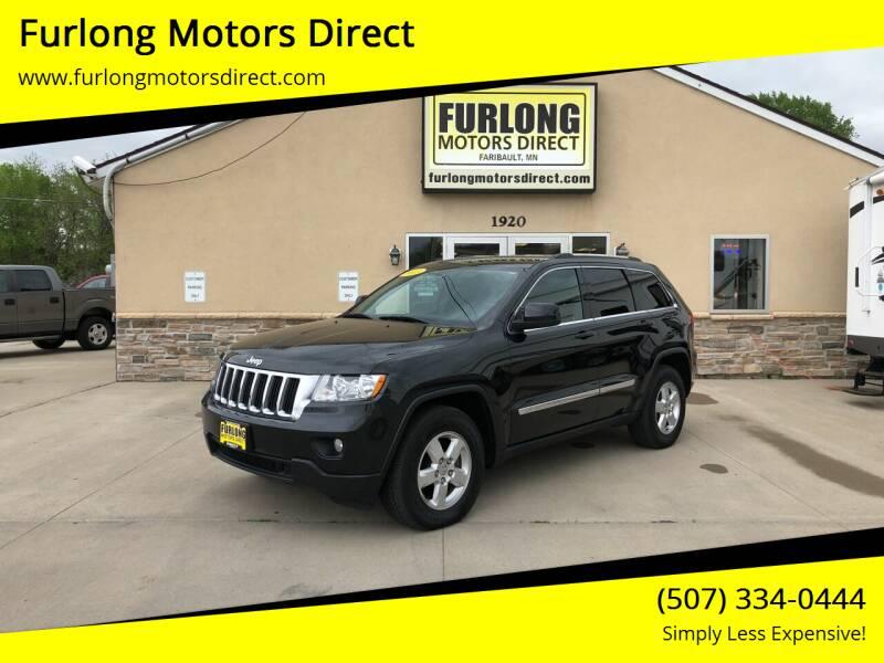 2013 Jeep Grand Cherokee for sale at Furlong Motors Direct in Faribault MN