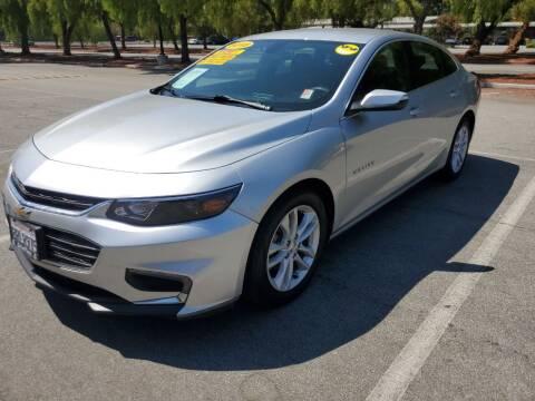 2018 Chevrolet Malibu for sale at ALL CREDIT AUTO SALES in San Jose CA