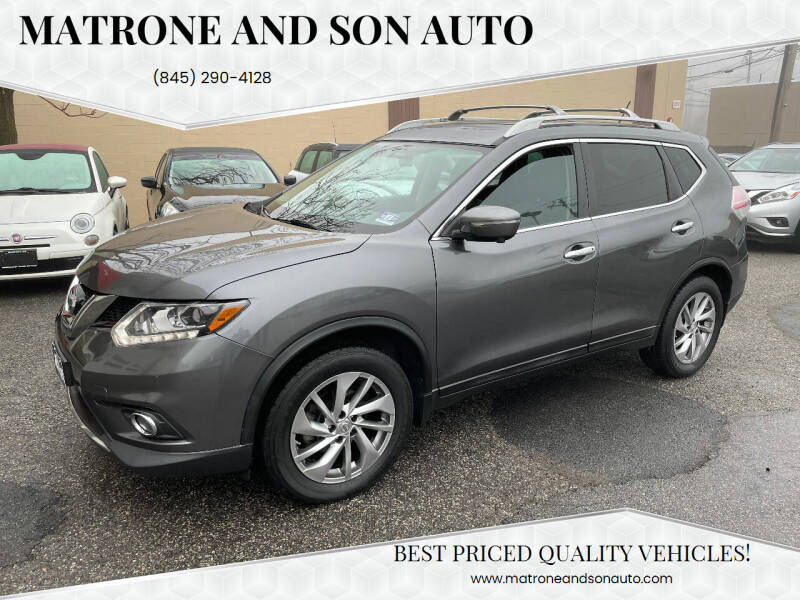 2014 Nissan Rogue for sale at Matrone and Son Auto in Tallman NY
