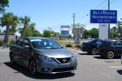 2017 Nissan Sentra for sale at BlueWater MotorSports in Wilmington NC